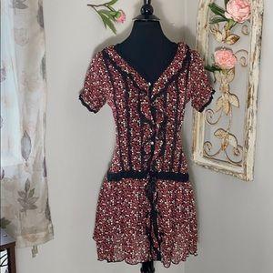 Anthropologie 213 Drop Waist Dress